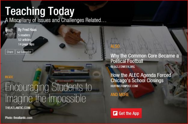 Image: cover of Teaching Today - a Flipboard magazine cover
