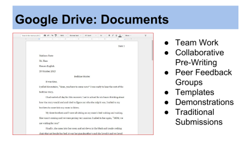 Image: Google Drive Documents