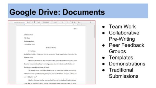 Image: Google Drive Documents