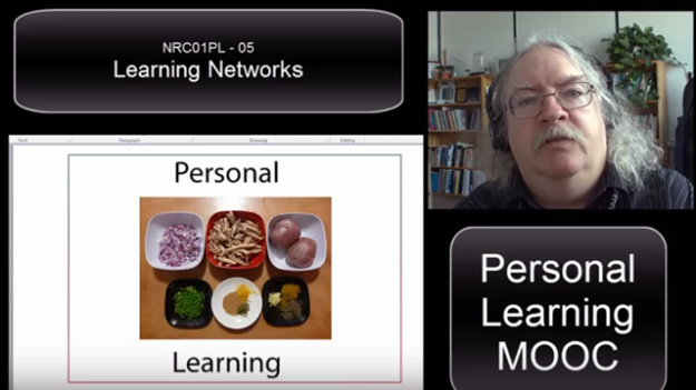 Image: Stephen Downes Revisting Presentation Learning Networks